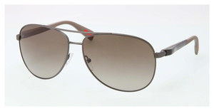 Prada Sport PS 51OS DG11X1 BROWN GRADIENTGUNMETAL