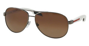 Prada Sport PS 53PS 5AV2G0 POLAR LIGHT BROWN GRADIENTGUNMETAL