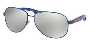 Prada Sport PS 53PS ACC2B0 GREY MIRROR SILVERBLUE DEMI SHINY