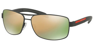 Prada Sport PS 54IS TIG2D2 GREY MIRROR ROSE GOLDGREY RUBBER