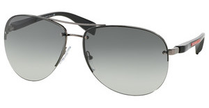 Prada Sport PS 56MS 5AV3M1 GREY GRADIENTGUNMETAL