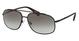 Prada Sport PS 56RS DG00A7 GREY GRADIENTBLACK RUBBER