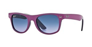Ray-Ban Junior RJ9035S 147/90 VIOLET GRADIENTFUCHSIA TOP ON METAL VIOLET