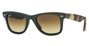 Ray-Ban RB2140 606285 BROWN GRADIENT DARK BROWNMATTE MILITARY GREEN