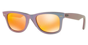 Ray-Ban RB2140 611169 BROWN MIRROR ORANGEMETALLIC OIL