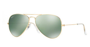 Ray-Ban RB3025 001/M4 CRYSTAL POL.GREEN SILVER MIRGOLD