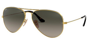 Ray-Ban RB3025 181/71 LIGHT GREY GRADIENT DARK GREYGOLD