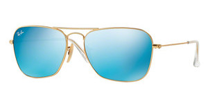 Ray-Ban RB3136 112/17 GREY MIRROR BLUEMATTE GOLD