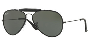 Ray-Ban RB3422Q 9040 GREENLEATHER BLACK