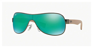 Ray-Ban RB3471 029/3R GREEN MIRROR GREENMATTE GUNMETAL