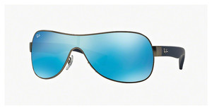 Ray-Ban RB3471 029/55 LIGHT GREEN MIRROR BLUEMATTE GUNMETAL