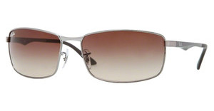 Ray-Ban RB3498 004/13 GUNMETAL BROWN GRADIENT