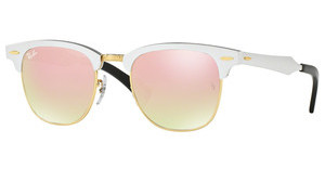 Ray-Ban RB3507 137/7O COPPER FLASH GRADIENTBRUSCHED SILVER