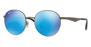 Ray-Ban RB3537 004/55 GREEN MIRROR BLUEGUNMETAL