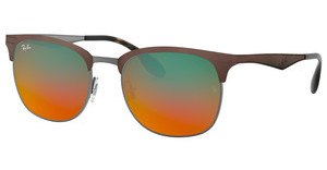 Ray-Ban RB3538 9006A8 GRADIENT SILVERGUNMETAL/MATTE BROWN