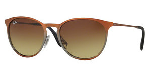 Ray-Ban RB3539 193/13 LIGHT BROWN GRAD BROWNSHOT BROWN METALLIC