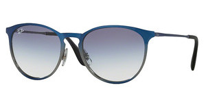 Ray-Ban RB3539 194/19 CLEAR GRAD LIGHT BLUESHOT BLUE METALLIC