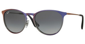 Ray-Ban RB3539 195/11 LIGHT GREY GRADIENT GREYSHOT VIOLET METALLIC