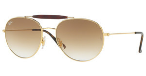 Ray-Ban RB3540 001/51 BROWN GRADIENTGOLD