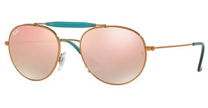 Ray-Ban RB3540 198/7Y COPPER FLASH GRADIENTSHINY BRONZE