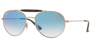 Ray-Ban RB3540 90353F CLEAR GRADIENT BLUECOPPER