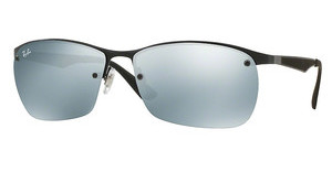 Ray-Ban RB3550 006/30 GREY FLASHMATTE BLACK