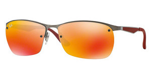 Ray-Ban RB3550 029/6Q ORANGE FLASHMATTE GUNMETAL