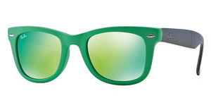Ray-Ban RB4105 602119 CRYSTAL GREEN MIRROR GREENMATTE GREEN