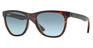 Ray-Ban RB4184 61014M BLUE GRADIENT GREYTOP HAVANA ON TRASPARENT BROWN