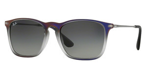 Ray-Ban RB4187 622311 GREY GRADIENT DARK GREYVIOLET SHOT ON BLACK