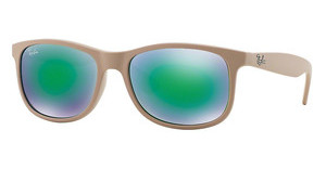 Ray-Ban RB4202 61543R green mirror greenbrown