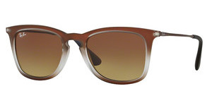 Ray-Ban RB4221 622413 BROWN GRADIENT DARK BROWNBROWN SHOT ON BLACK