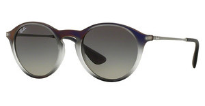 Ray-Ban RB4243 622311 LIGHT GREY GRADIENT GREYVIOLET SHOT ON BLACK