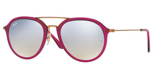 Ray-Ban RB4253 62359U GREY FLASH GRADIENTSHINY FUXIA