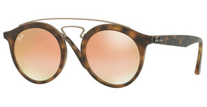 Ray-Ban RB4256 6267B9 MIRROR GRADIENT COPPERMATTE HAVANA