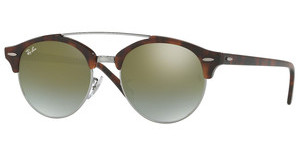 Ray-Ban RB4346 62519J GREEN FLASH GRADIENTSHINY RED HAVANA