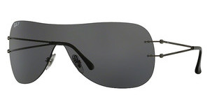 Ray-Ban RB8057 154/81 GREY POLARMATT DARK GUNMETAL