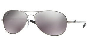 Ray-Ban RB8301 004/N8 CRY. POLAR GRAY MIR SILVER GRGUNMETAL