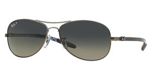 Ray-Ban RB8301 029/98 CRYSTAL GREY-BLUE POLARMATTE GUNMETAL