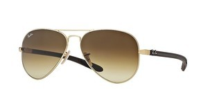 Ray-Ban RB8307 112/85 BROWN GRADIENT DARK BROWNMATTE GOLD