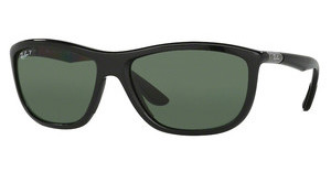 Ray-Ban RB8351 62199A DARK GREEN POLARBLACK