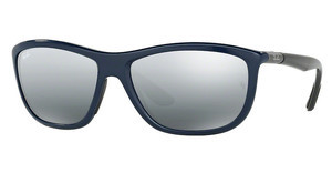 Ray-Ban RB8351 622288 GREY MIRROR SILVER GRADIENTSHINY BLUE