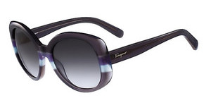 Salvatore Ferragamo SF793S 025 GREY-AZURE