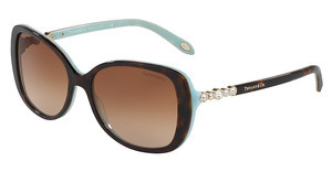 Tiffany TF4121B 81343B BROWN GRADIENTHAVANA/BLUE