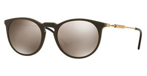 Versace VE4315 51985A LIGHT BROWN MIRROR GOLDGREEN/SAND GREEN