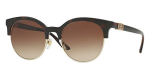 Versace VE4326B 521213 BROWN GRADIENTHAVANA/PALE GOLD
