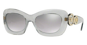 Versace VE4328 52066V LIGHT GREY MIRROR GRAD SILVERTRANSPARENT GREY