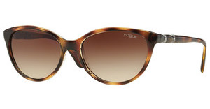 Vogue VO2894SB 191613 BROWN GRADIENTTOP HAVANA/TRANSPARENT