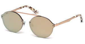 Web Eyewear WE0181 34G braun verspiegeltbronze hell glanz
