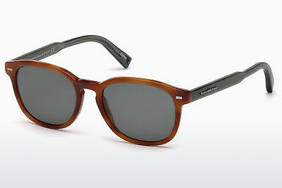 Óculos de marca Ermenegildo Zegna EZ0005 53N - Havanna, Yellow, Blond, Brown